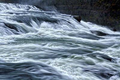 Photograph - Gullfoss Waterfall #5 - Iceland by Stuart Litoff