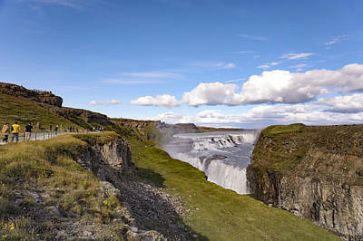 Photograph - Gullfoss Waterfall Iceland II by Marianne Campolongo