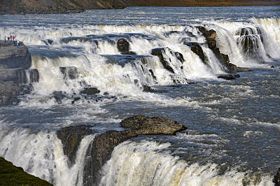 Photograph - Gullfoss Waterfall Iceland IIi by Marianne Campolongo