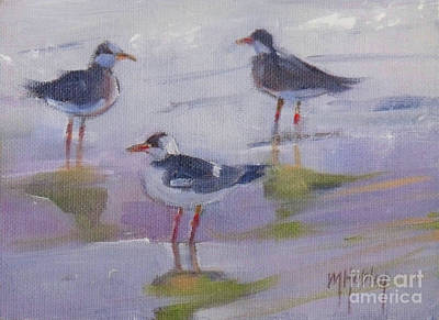 Painting - Gulls by Mary Hubley