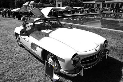 Photograph - Gullwing Roadster by John Schneider