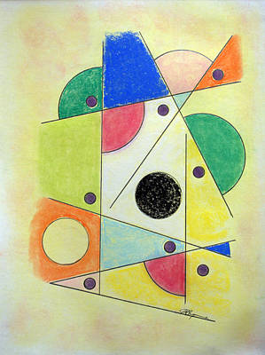 Drawing - Gum Ball Machine by J R Seymour