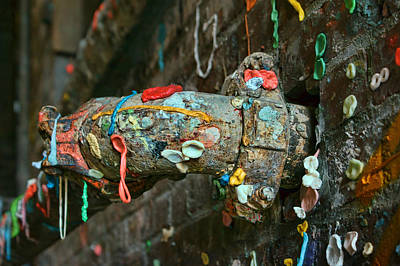 Photograph - Gum Wall - Seattle by Nikolyn McDonald