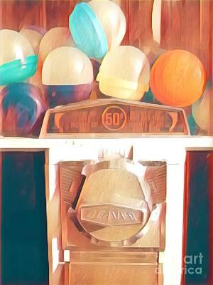 Photograph - Gumball Memories - Sunny Days by Miriam Danar