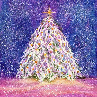 Painting - Gumdrop Forest Christmas Tree by Janine Riley