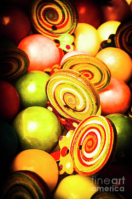 Confectionery Photograph - Gumdrops And Candy Pops  by Jorgo Photography - Wall Art Gallery