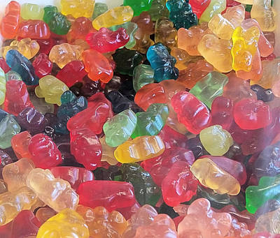 Photograph - Gummy Bears by Robert Banach