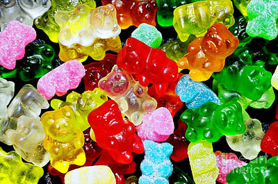Photograph - Gummy Bears by Vivian Krug Cotton