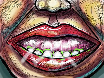 Digital Art - Gummy by Joe Bloch