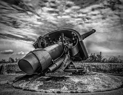 Photograph - Gun At Sandy Hook by Nick Zelinsky