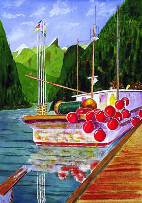 Gunboat Slough Bouys Print by Buster Dight