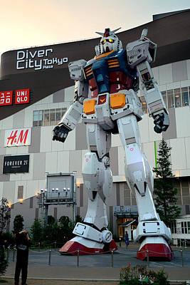 Photograph - Gundam by Songquan Deng