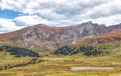 Photograph - Guanella Pass Vista by John M Bailey
