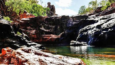 Gunlom Rock Pool - Kakadu National Park Art Print