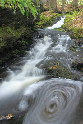 Mount Toby Photograph - Gunn Brook Vortex Mount Toby by John Burk