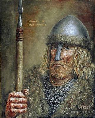 Painting - Gunnar Hamundarson by Arturas Slapsys