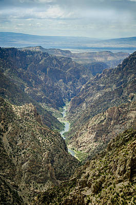 Photograph - Gunnison River In Black Canyon, Gunnison, Colorado by Debbie Karnes