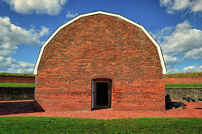 Photograph - Gunpowder Magazine At Fort Mchenry by Bill Swartwout Fine Art Photography