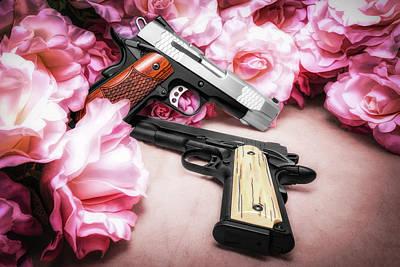 Gun Wall Art - Photograph - Guns N Roses by Tom Mc Nemar