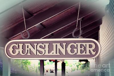 Photograph - Gunslinger by Ella Kaye Dickey