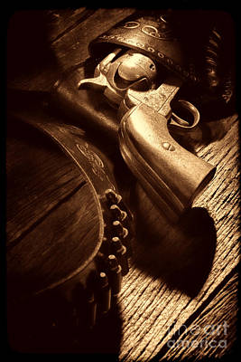 Photograph - Gunslinger Tool by American West Legend By Olivier Le Queinec
