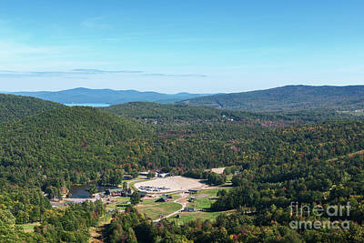 Photograph - Gunstock Mountain Resort by Sharon Seaward