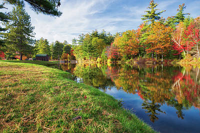 Photograph - Gunstock Pond by Robert Clifford