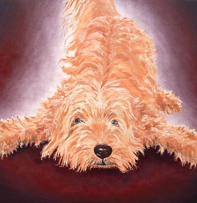 Gunther Art Print by Diane Daigle
