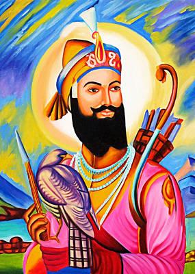 Photograph - Guru Gobind Singh Sikh by Munir Alawi
