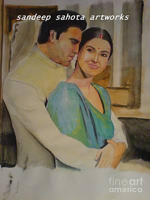 Kama Sutra Painting - Guru by Sandeep Kumar Sahota