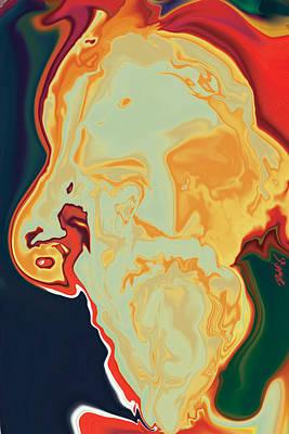 Gurudev Art Print by Rabi Khan