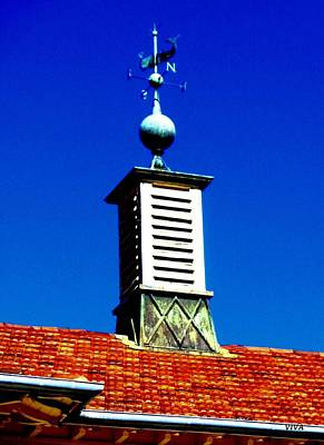 Photograph - Guruwal The Whale Weathervane - Mosman Australia by VIVA Anderson