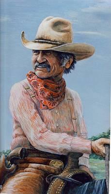 Gus Art Print by Lee Bowerman