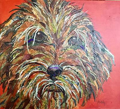 Painting - Gus by Phiddy Webb