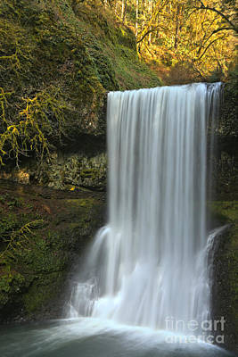 Photograph - Gushing At Silver Falls by Adam Jewell