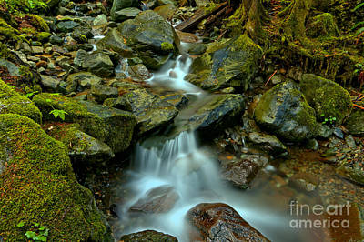 Photograph - Gushing Over The Boulders by Adam Jewell