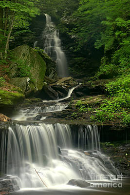 Photograph - Gushing Ozone Falls by Adam Jewell