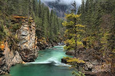 Photograph - Gushing Through British Columbia by Adam Jewell