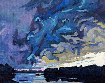 Gust Front Art Print by Phil Chadwick