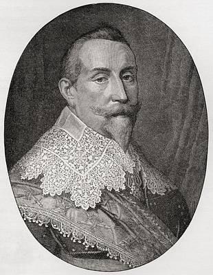 Adolf Drawing - Gustav II Adolf, 1594 To 1632. King Of by Vintage Design Pics