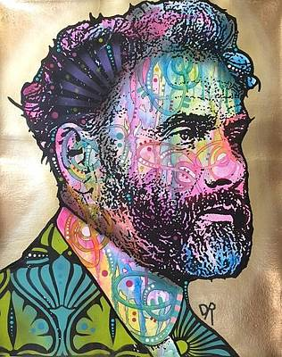 Mixed Media - Gustav Klimt by Dean Russo