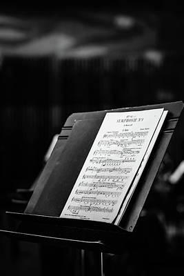 Photograph - Gustav Mahler Symphony No 1 by Marco Oliveira