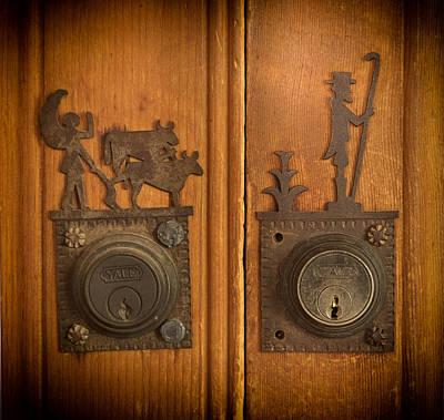 Photograph - Gustave Baumann Locks by Mary Lee Dereske
