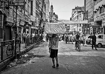 Photograph - Guwahati In Black And White by Roberto Pagani