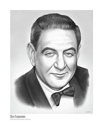 Drawings Rights Managed Images - Guy Lombardo Royalty-Free Image by Greg Joens