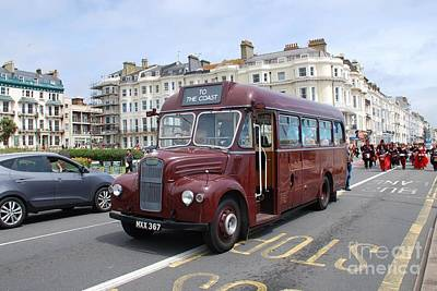 Photograph - Guy Special Vintage Bus by David Fowler