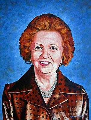 Painting - Guzide Gulpinar Taranoglu by Rezzan Erguvan-Onal