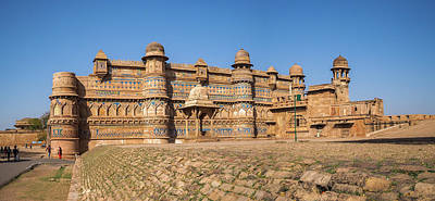 Photograph - Gwalior Fort 2 by Mark Perelmuter