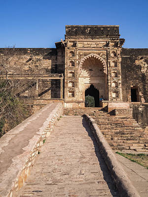 Photograph - Gwalior Fort 3 by Mark Perelmuter