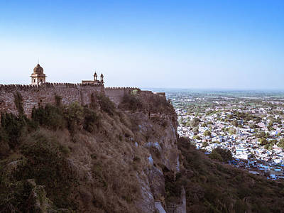 Photograph - Gwalior Fort 5 by Mark Perelmuter